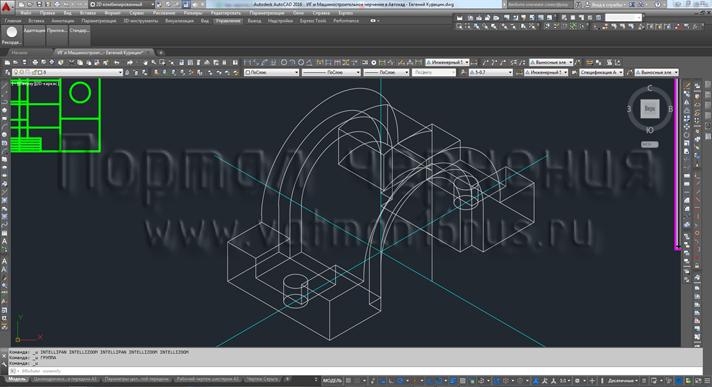 Как модели сделать чертеж в компасе